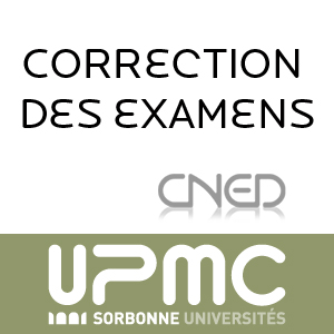 Licence  distance : corrections dexamens en mathmatique et physique