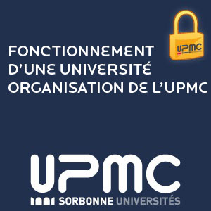 Le fonctionnement d'une universit - Organisation de l'UPMC